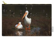 White Pelican Visitors To Gilbert Arizona Carry-all Pouch