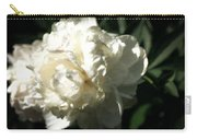 White Peony In Spring Carry-all Pouch