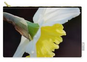 White Petaled Daffodil Carry-all Pouch