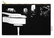 White Piano Carry-all Pouch
