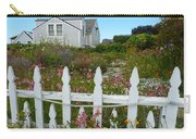 White Picket Fence In Mendocino Carry-all Pouch