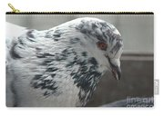 White Pigeon Carry-all Pouch