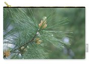 White Pine Flower N Spittle Bug Carry-all Pouch
