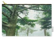 White Pine Trees, Wisconsin, Usa Carry-all Pouch