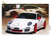 White Porsche Gt3rs Carry-all Pouch