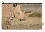 White Rhinoceros Kenya Carry-all Pouch