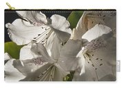 White Rhododendron B Carry-all Pouch