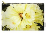 White Rhododendrons Carry-all Pouch