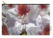 White Rhododrendon Carry-all Pouch