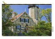 White River Lighthouse In Whitehall Michigan No.057 Carry-all Pouch