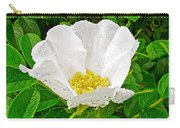 White Rose At Norris Point In Gros Morne National Park-newfoundland  Carry-all Pouch