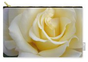 White Rose Named Ray Of Sun Carry-all Pouch