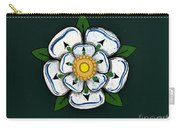 White Rose Of York Carry-all Pouch