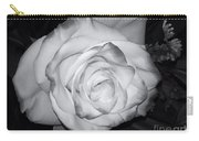 White Rose Passion Impression Carry-all Pouch