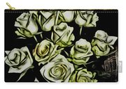White Roses - Moving On Carry-all Pouch