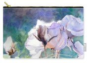 White Roses In The Shade Carry-all Pouch