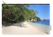 White Sand And Blue Sky Carry-all Pouch