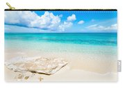 White Sand Carry-all Pouch by Chad Dutson