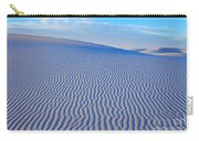 White Sand Patterns New Mexico Carry-all Pouch by Bob Christopher
