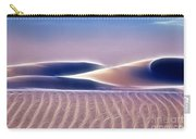 White Sands Abstract Carry-all Pouch