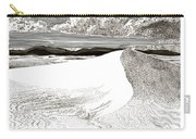 White Sands New Mexico Carry-all Pouch by Jack Pumphrey