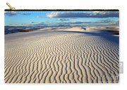 White Sands Of New Mexico Carry-all Pouch