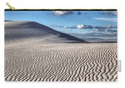 White Sands Patterns Carry-all Pouch