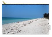 White Sandy Beach Carry-all Pouch