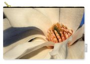 White Saucer Magnolia Carry-all Pouch