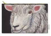 White Sheep Carry-all Pouch