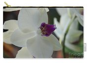 White Silk Carry-all Pouch