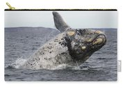 White Southern Right Whale Breaching Carry-all Pouch