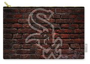 White Sox Baseball Graffiti On Brick  Carry-all Pouch by Movie Poster Prints