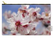 White Spring Almond Flowers Carry-all Pouch