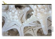 White Starfish Carry-all Pouch by Carol Groenen
