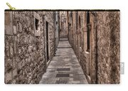 White Streets Of Dubrovnik No3 Carry-all Pouch