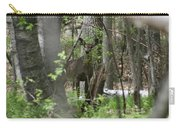 White Tailed Deer Encounter  Carry-all Pouch
