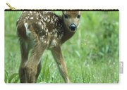 White-tailed Deer Fawn Meadow Carry-all Pouch