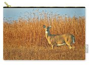 White Tailed Deer In Morning Light Carry-all Pouch