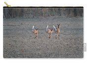 White Tailed Deer Running Carry-all Pouch