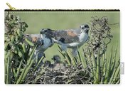 White-tailed Hawk Family Carry-all Pouch