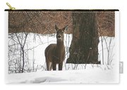 White-tailed Winter Stand  Carry-all Pouch