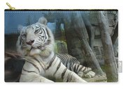 White Tiger At Busch Garden Carry-all Pouch