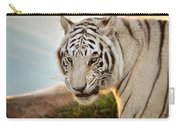 White Tiger At Sunrise Carry-all Pouch