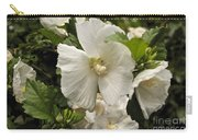 White Tree Flower Carry-all Pouch