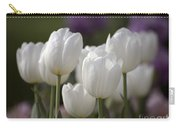 White Tulips 9169 Carry-all Pouch