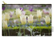 White Tulips In Parisian Garden Carry-all Pouch