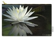 White Water Lily Reflections Carry-all Pouch
