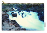 White Water On The Ohanapecosh River  Carry-all Pouch