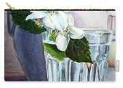 White White Jasmine  Carry-all Pouch